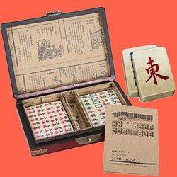 Le jeu de Mahjong
